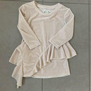 Joyfolie 2T velvet dress